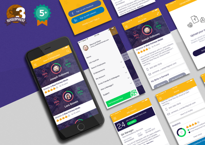 Design Professional App UI UX for iOS, Android With Editable Sketch or PSD File