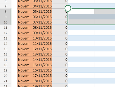 Process data into a spreadsheet with dynamic dropdown based lookups/outputs