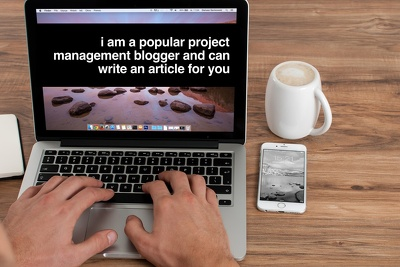 Write a blog post on project management based on my experience as a project manager