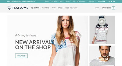 Create Responsive eCommerce Website
