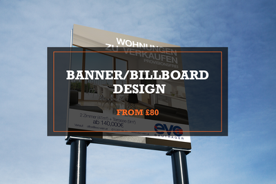 Design you a banner/billboard design