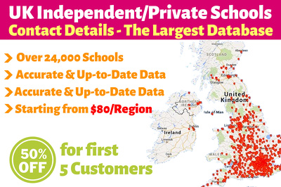 24000 Plus UK Private Schools |UK Independent Schools Contact Email Web Database