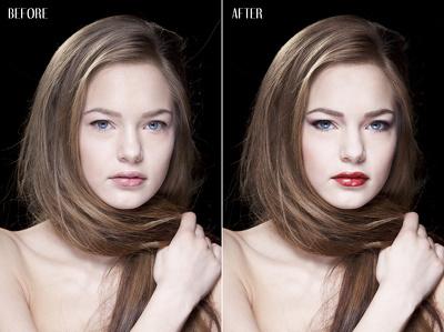 Portrait retouching!
