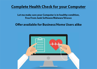 Perform a complete Health Check on your Computer