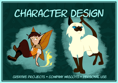 Design a unique character or company mascot