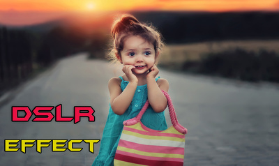 Do DSLR Camera effect Professionally 10 photos