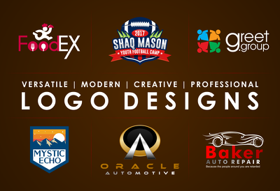 Design a Professional Logo with 5 concepts