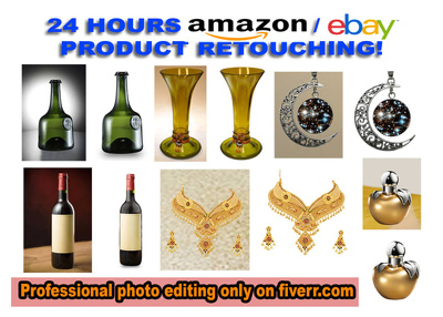 Do any type of product retouching and designing