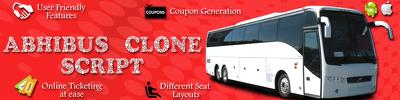 Design Abhi bus Booking script