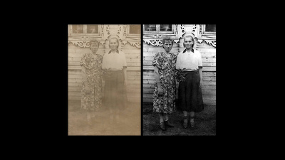 Retouch your old or damaged photo