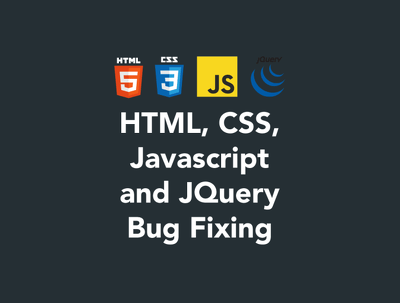 1 Hour Of HTML, CSS, Javascript and JQuery Fixes