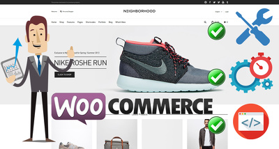 Build, Fix or Customize your E-Commerce website by WooCommerce