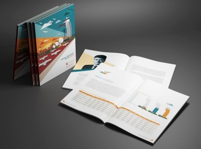 Design 16 pages ANNUAL Report Or Business Proposal