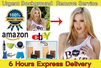 Professional and Urgently Background removal service ( 30 Photos - 6 Hours)