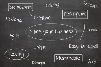 Give you a brainstorm of 10 names for your business, product or anything