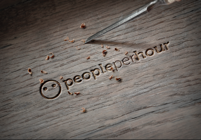 Replicate your logo on wood