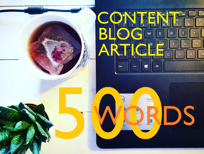 Write a 500 word blog or article on any subject.