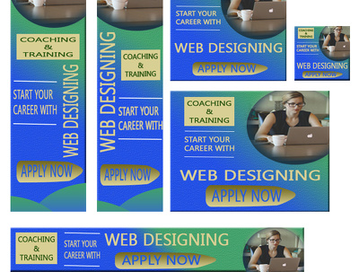 Design Top Quality Professional Banners for Google ads, Website and Social media
