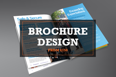 Design you a professional brochure for print or online*