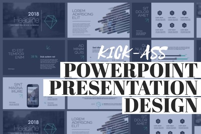 Design your 50 slide presentation deck