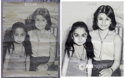 Bring back memories by restoring old or damaged photos.