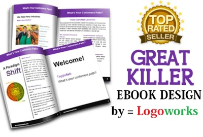 Design BEAUTIFUL Pdf Ebook Interior From Your Text Or Website