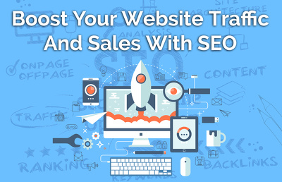 Boost Your Website Traffic And Sales With SEO