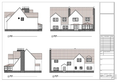 Provide planning applications drawings