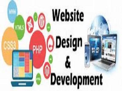 Professional look full website creation