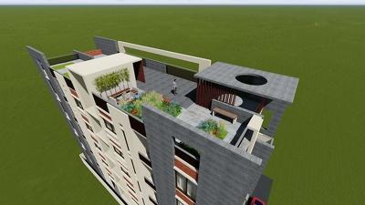 3d Render Building Exterior & Interior Design