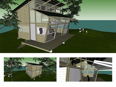 Give shape to your project idea in the form of a 3D SketchUp model.