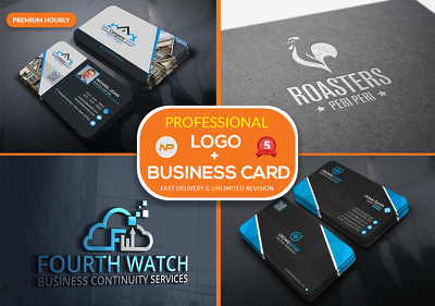 Design Outstanding and Unique Logo/Business Card+Source Files [Unlimited Revisions]