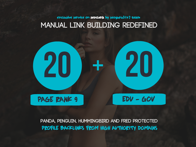Provide 20 PR9 + 20. EDU -. GOV Backlinks From Authority Domains