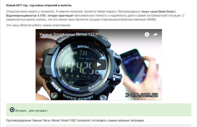Write product descriptions in Russian