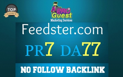 Write and Publish a Premium Guest Post on Feedster.com (PA66, DA77, PR7)