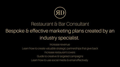 Create a Marketing Plan for your Restaurant/Bar