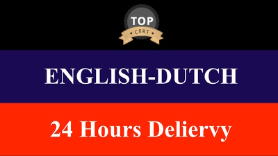 Proofread and Translate 1500 Words Between English And Dutch Fast