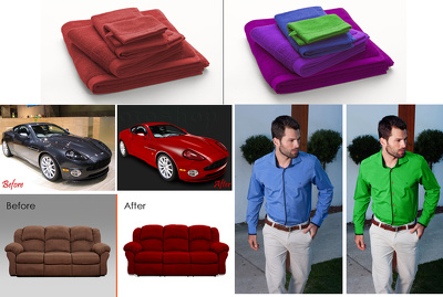 Provide you color correction service upto 10 photos