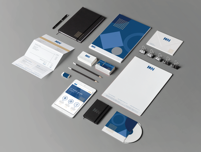 Premium Branding Package (VAT included)- Logo, Business Card, Letterhead, Style Guide