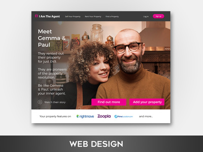 create a stunning 5 page website design mockup
