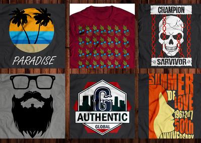 Design T shirt artwork for you