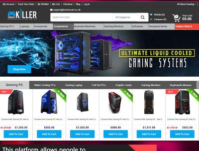 Design & Develop a Stunning Bespoke Magento Ecommerce Website With Free Uk Hosting