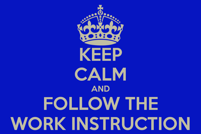 Write a work instruction or tutorial for a technical task used in your business