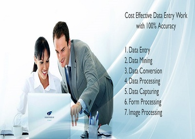 Complete All Types Of  Data Entry Work