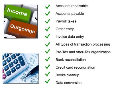 Do your bookkeeping with a highly experienced and qualified bookkeeper (ACCA & AAT).