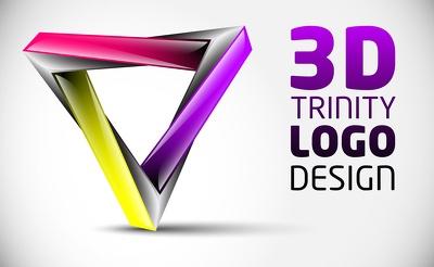 Design 3d Logo For You
