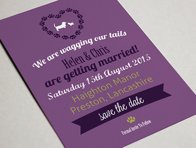 Design your save the dates cards