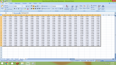 Retype 4000 Data Cell in Excel from any image file in 10 Hours