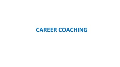 Provide a half-price introductory career coaching session for £30