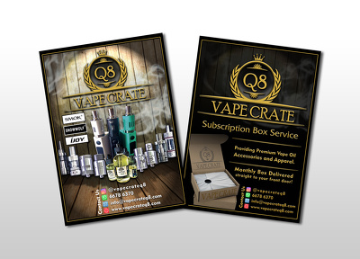 I will design your double sided flyer